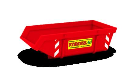 Wilt u een container huren of grond laten leveren?